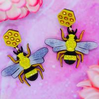 【両耳セット】Bee