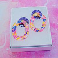 猫目のおんな Earrings/Ear clips【11】