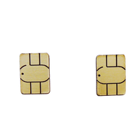 【両耳セット】SIM CARD    Earrings /Ear Clips