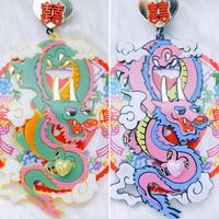 神龍Big Dragon Singlr of Earrings/Ear clips