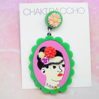 Frida Khalo(GR×PNK)Single Earring s/Ear clips