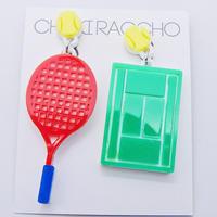 【両耳セット】 テニス Tennis