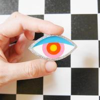 【ヘアクリップ/ブローチ】Shining Eye