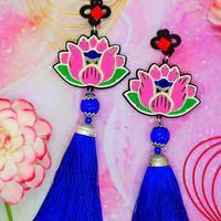 Lotus Earrings/Ear clips