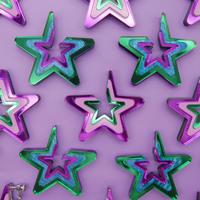 【両耳】I'm the star   Earrings/Ear clips