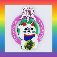 Lucky Cat Brooch/Single Earrings・Ear clips