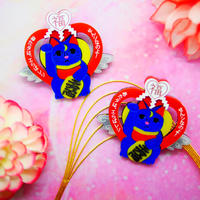 Lucky Luna Earrings/Ear clips