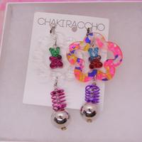【BG】たまにはちょっピリ  Earrings/Ear clips 片耳【18】
