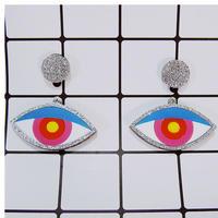 【両耳セット】Shining Eye  Earrings/Ear clips