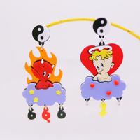 Devils Earrings /Ear clip