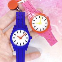 ●青とピンクの腕時計セット Earrings/Ear clips