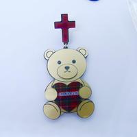 Big Sweet Bear Single Earring/Ear clip/Brooch