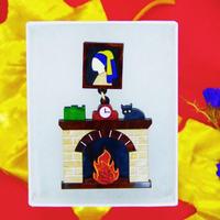 【片耳】暖炉 Fireplace Single Earrings/Ear clips
