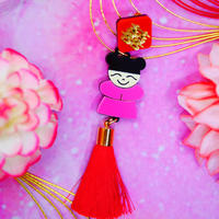 Red Girls Single Earring/Ear clip