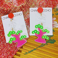 松(片耳) Single Earrings/Ear clip