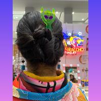 さらわれた宇宙人かんざし Area51 HairPin