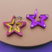 【両耳】Open star!  Earrings/Ear clips