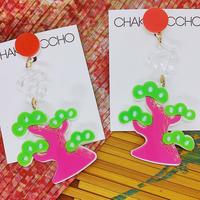 【片耳】松 Pine tree Single earrings