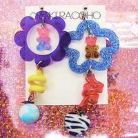 くまグミ11 Earrings/Ear clips