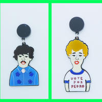 Napoleon Dynamite Brooch/Single Earring・Ear clip