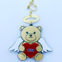 (訳あり)Angel  Bear(片耳)イヤリングSingle Earring/Ear clip/Brooch  のコピー
