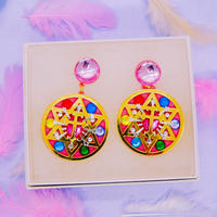 Maagical Compact  Earring /Ear clips