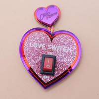 【片耳/ブローチ】ラブスイッチ LOVE SWITCH  Brooch/Single Earrings