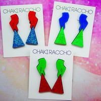 Sai Baba Vibuti  Earrings/Ear clips