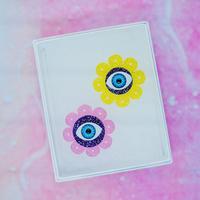 Lovely Flower【PPL/AQU】Earrings/Ear clips【3】