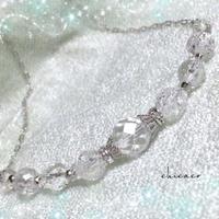 水晶クリスタルのネックレス