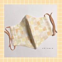 ノーズワイヤー&ポケット付き♡立体マスク tropical