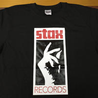 スタックス・レコード ロゴTシャツ ブラック