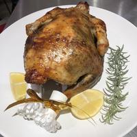 しおコショウローストチキン  a whole Roast Chicken from Okinawa