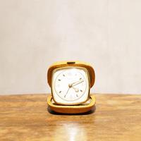 【ヨーロッパヴィンテージ】西ドイツ製 携帯目覚まし時計