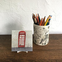 "Laura Carlin tile  ""Telephon box"""