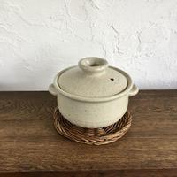 杉本寿樹 白釉 小鍋