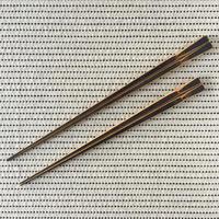 下本一歩 スス竹 取り箸 (27cm)