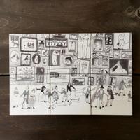 """Laura Carlin  tiles   """"London's Royal Academy"""""""