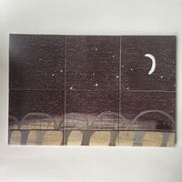 "Laura Carlin tiles   ""Night Train"""