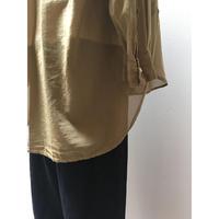 100/2 FINX 平ボイル バンドカラーシャツ