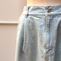 サマーカラー デニムロングスカート