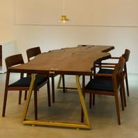 chigiliオリジナル一枚板テーブル