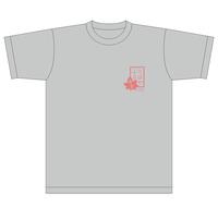 ちはやふる基金チャリティー Tシャツ グレー キッズサイズ [chihaya10014]