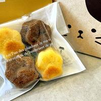 【フィナンシェ】おいしいネコの手(バニラ・チョコ味)