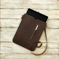 iPad Pro12.9インチ用の手縫いのオイルドレザー・ケース