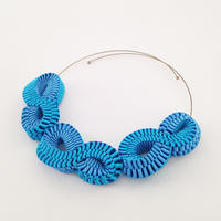 Mobius / Necklace   Sky blue  ネックレス