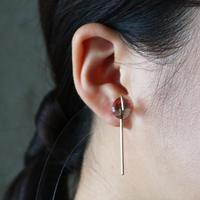 Line / Pierced Earrings    Andesine  (single)  ピアス