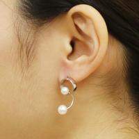 Pendulum / Pierced Earrings Silver ピアス