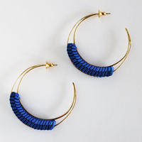 Luna / Pierced Earring Blue ピアス