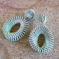 Mobius /  Pierced Earrings    Mint  ピアス